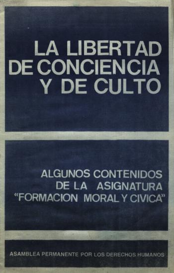 el derecho a la libertad de conciencia: